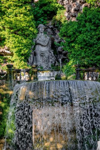 Oval Fountain