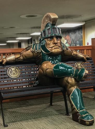 Sparty at Rest